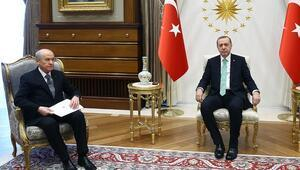 Erdoğan Bahçeliyi Beştepeye davet ettim dedi, görüşme tarihi belli oldu