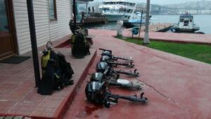 1 milyon Euroluk çalıntı yatla marinalarda hırsızlık yapan şüphelilere operasyon