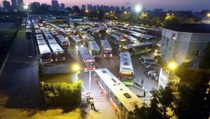 Toplu taşımada gece mesaisi başlıyor