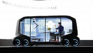 Çok işlevli otonom araçlar: Dağıtım aracı, otel, taksi