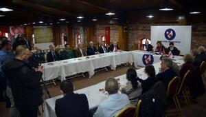 Fotoğraflar // Yılın ilk toplantısını Silivride yapan Basın Konseyi: Tutuklu gazeteciler tahliye edilsin