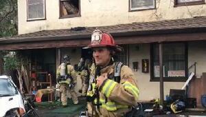 Kaliforniya'da bir adam örümceği öldürmeye çalışırken evini yaktı