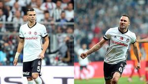 Beşiktaşa iki kötü haber Pepe ve Tosic...