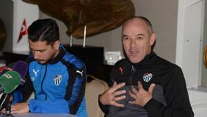 Bursaspor Teknik Direktörü Paul Le Guen: Azizin kalmasını istiyorum