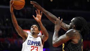 Lou Williams kariyer rekorunu kırdı Clippers...