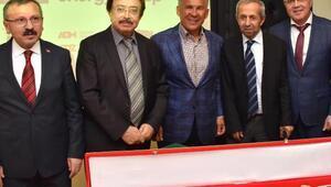 Tataristan Cumhurbaşkanı Minnihanovdan termik santral ziyareti