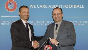 FIBA ve UEFAdan işbirliği için ilk adım