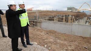 Başkan Duruay, devlet hastanesinin temelini attı