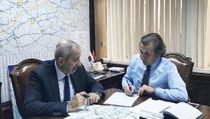 """Ak Parti Kırşehir Milletvekili Mikail Arslan:  """"Çevre Yolunun 2018 yatırım programına alınması için çalışıyoruz"""""""