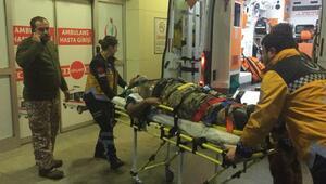 Avcılar kaza yaptı: 4 yaralı