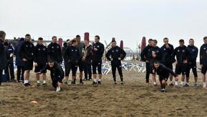 (Özel) Rus takımı SKA Khabarovsk Antalyada kampa girdi