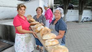 Kadınların elinden katkı maddesiz organik köy ekmeği