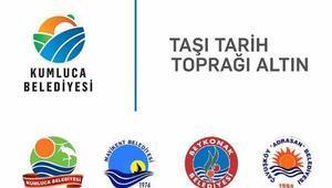 Kumluca Belediyesine yeni logo