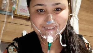 Akciğerleri sönen Özlem için kampanya başlatıldı