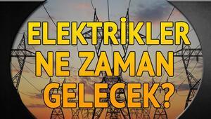 15-16 Ocak 2018 Pazartesi günü planlı kesinti programı - İstanbulda elektrikler ne zaman gelecek
