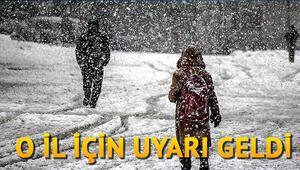Hava durumu için önemli uyarı geldi Kar yağışı için gözler o güne çevrildi