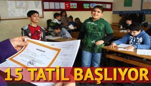 15 tatil için büyük gün yaklaşıyor Peki okullar ne zaman açılacak