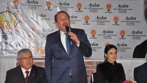 AK Partili Karacandan Aydında STK buluşması