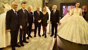 IF Wedding Fashion İzmir-Gelinlik Damatlık Fuarı açıldı
