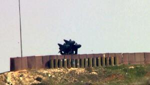 ABDnin hibe ettiği I-HAWK füzeleri, Afrinden gelecek hava saldırılarına karşı hazır
