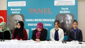 Anadolu Mektebi Yazar Okumaları Projesi panel etkinliği Kayseri'de yapıldı