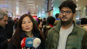 Myanmarda gözaltına alınan TRT World ekibi Türkiyede