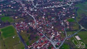 Çok konuşulan o köy havadan görüntülendi Yatırımcı akın etti