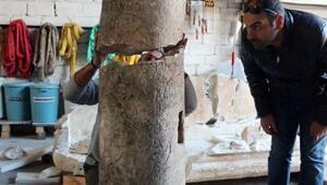Termessosta bulunan 2 bin yıllık mil taşı yeni bir kentin habercisi