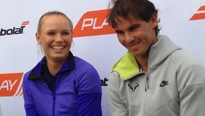 Nadal ve Wozniacki 3. turda