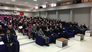 Kaymakam Tezcan din görevlileri toplantısına katıldı