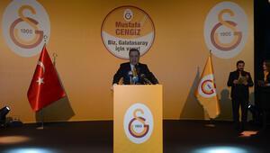 Galatasaray Başkan Adayı Cengizden Özbeke taş