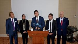 TBB Başkanı Feyzioğlu, Muharrem bebek için Vana geldi
