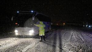 Tipi nedeniyle Sivas-Malatya karayolu ulaşıma kapandı