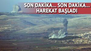 Son dakika... Türk F-16ları bombalıyor ÖSO birlikleri Afrine girmeye başladı