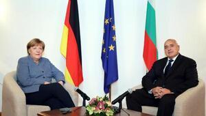 Merkelden Bulgaristana Türkiye sınırıteşekkürü