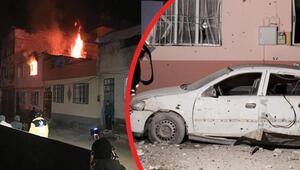 Gece yarısı hareketli dakikalar: Suriyeden Kilise roket atıldı