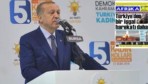 Cumhurbaşkanı Erdoğandan KKTCdeki gazeteye çok sert tepki