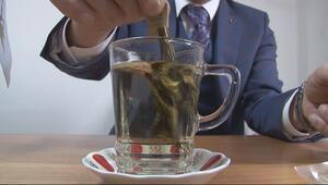 2,5 yapraklı organik yeşil çay için dünya sıraya girdi