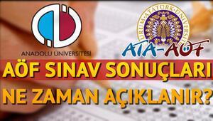 AÖF final sınavı sonuçları Anadolu Üniversitesi tarafından ne zaman açıklanacak