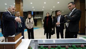 Başkan Çelik, ticaret ve yaşam alanını tanıttı