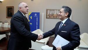 Sofya Büyükelçisi Ulusoy, Başbakan Borisov ile görüştü