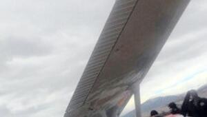 Ispartada eğitim uçağı tarlaya zorunlu iniş yaptı