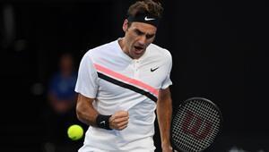 Federer Avustralya Açıkta yarı finalde