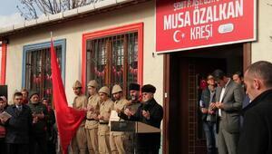 Afrin Şehidi Musa Özalkan'ın vasiyeti yerine getirildi