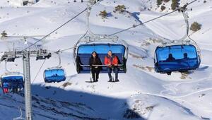 Kış turizminin yeni gözdesi Denizlideki kayak merkezi