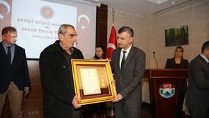 Rizede Devlet Övünç Madalyası ve Beratı töreni