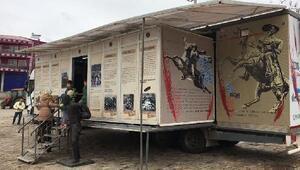 Çanakkale Destanı Müzesi Gezici TIRına yoğun ilgi