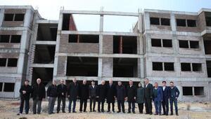Kale üniversite binası yeni döneme yetişecek