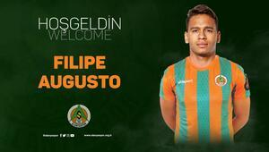 Benficadan Alanyaspora geldi Filipe Augusto imzaladı...