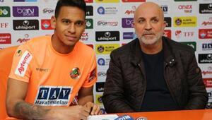 Aytemiz Alanyaspor, Filipe Augusto ile resmi sözleşme imzaladı
